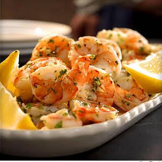 Lemon-Garlic Marinated Shrimp.
