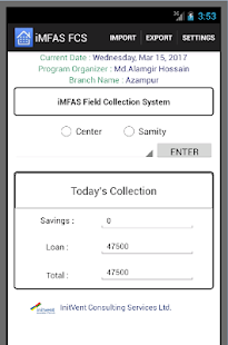 iMFAS Field Collection System2 - náhled