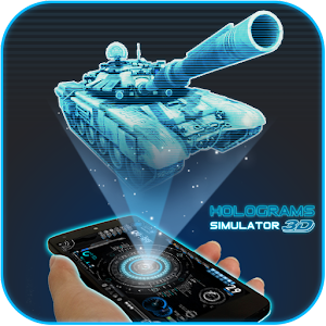 Holograms 3D Simulated for PC and MAC