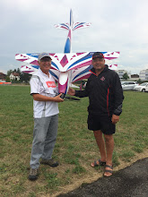 Photo: Dave with Wolfgang Matt. It was after his last competition F-15 schedule. He is retiring from World's competition now.