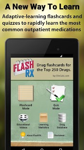 FlashRX - Top 250 Drugs- screenshot thumbnail