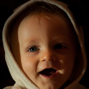 Happiness. by Michael Haagen - Babies & Children Children Candids ( shaded, candid, happy, levi,  )