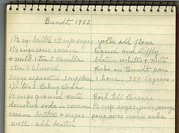 Orange Glaze For Bundt Cake Recipe 1952