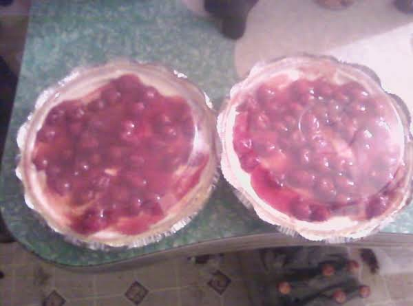 I Like The Cherry Topping, But Youcan Add Anything Really. Some Like Fresh Strawberries, And Some Like Chocolate Chips. Whatever Ur Taste....