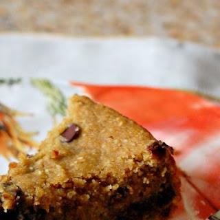 Healthy Deep Dish Chocolate Chip Cookie Pie.
