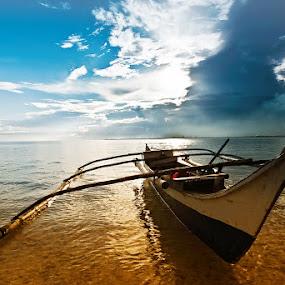 Banca by Hector Quiambao - Transportation Boats
