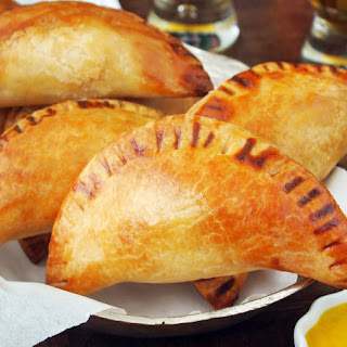 Shrimp and Crab Empanadas.