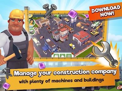 Construction Hero MOD APK 1.0.542 [Unlimited Diamonds + Cash] 5