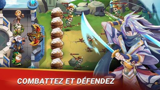 Code Triche Castle Defender: Hero Shooter - Idle Defense TD APK Mod screenshots 1