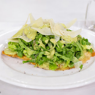 RecipeChicken Caesar Salad Pizza