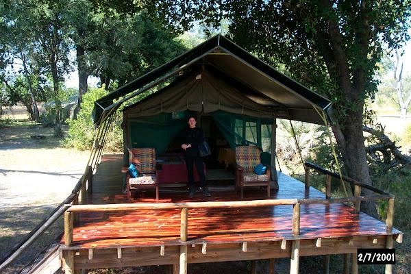 Shinde tent