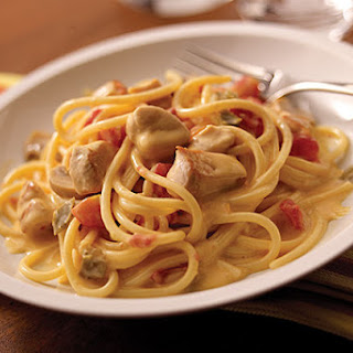 VELVEETA® Spicy Chicken Spaghetti.