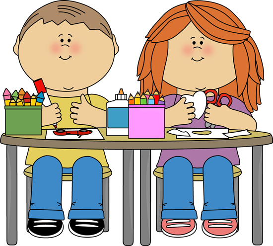 Students sitting at desk