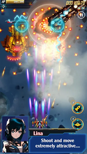 Galaxy Shooter 2020 -  Galaxy Attack Adventure 2.0.1 screenshots 1