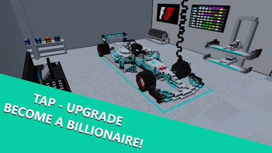 Formula Clicker - Idle Racing Business Tycoon Game Screenshot