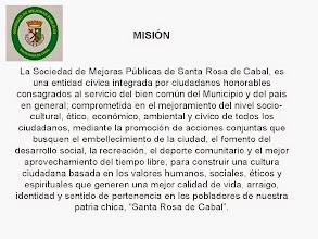 Photo: MISIÓN DE LA S.M.P. SANTA ROSA DE CABAL.