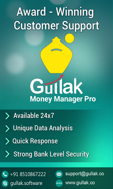 Gullak - Expense Manager Pro- screenshot