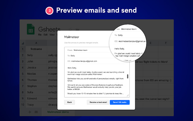 Mailmeteor: Mail merge - G Suite Marketplace