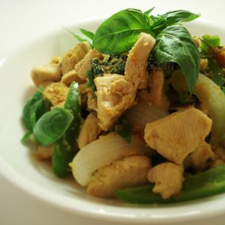 Cambodian Stir-Fried Lemongrass Chicken Recipe