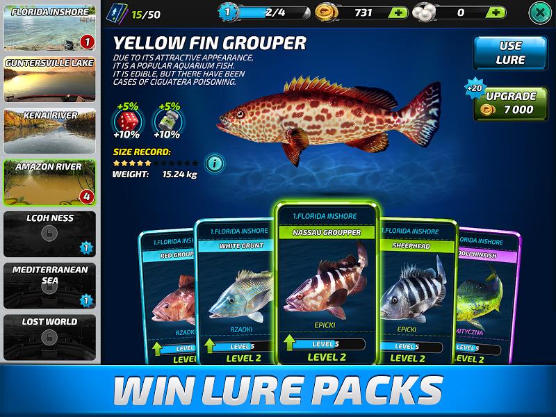 Fishing Clash: Catching Fish Game. Bass Hunting 3D Screenshot 6
