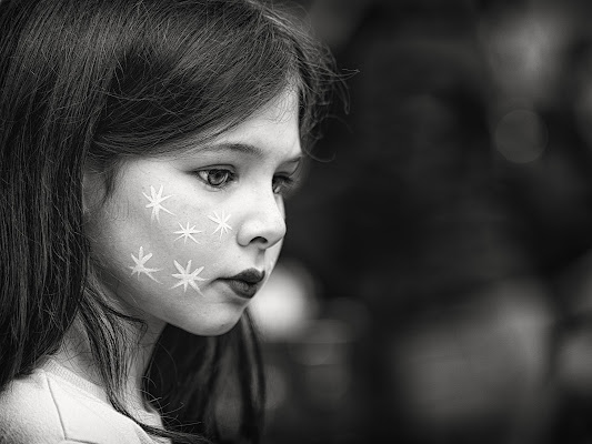 giovane donna di Rino Lio