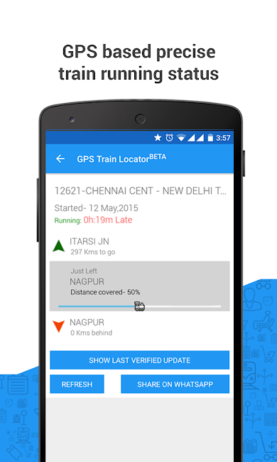 #7. PNR Status & Indian Rail Info (Android)