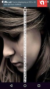 หน้าจอล็อคซิป ความเศร้า - náhled
