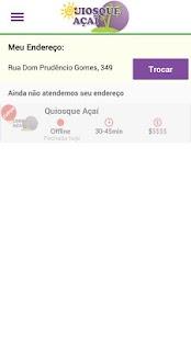 Quiosque Açaí - náhled