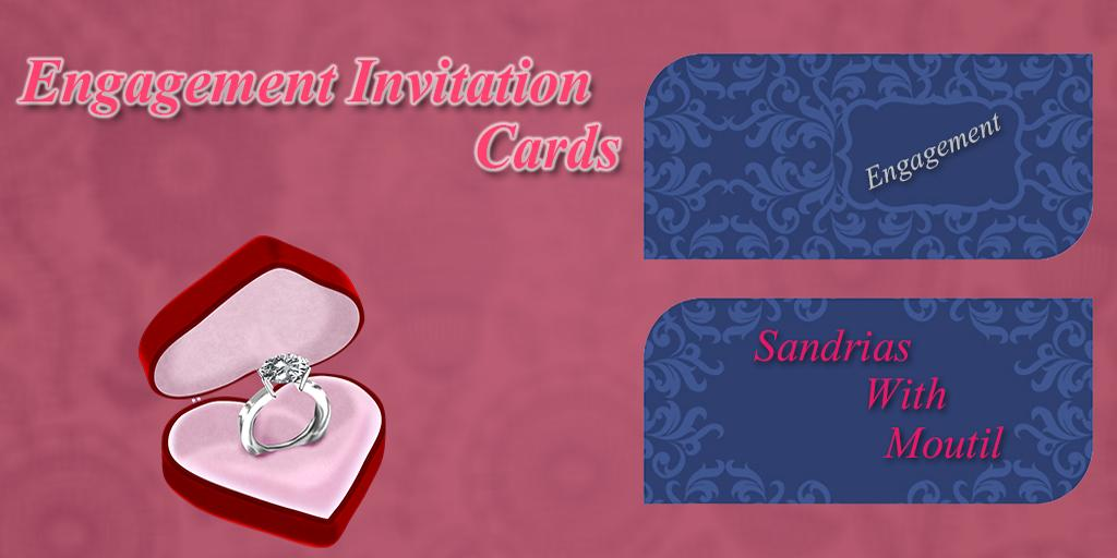 engagement invitation cards - android apps on google play, Birthday invitations