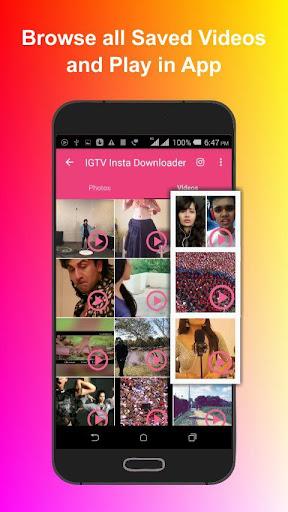 Video Photo Downloader for IGTV - Instagram saver App Report