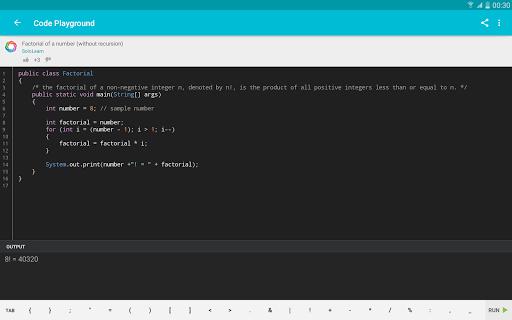 Learn Java 3.8.1 Screenshots 10