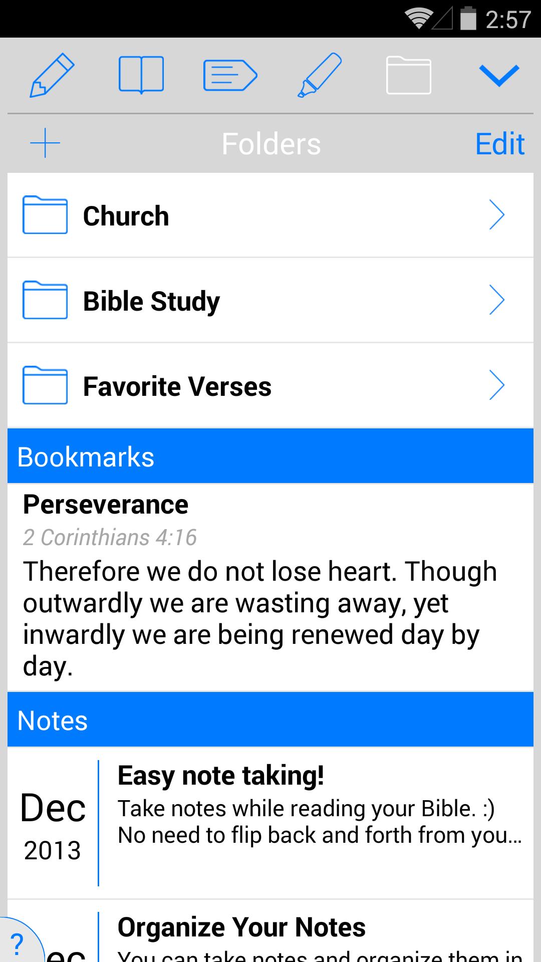 New American Standard Bible screenshot #5
