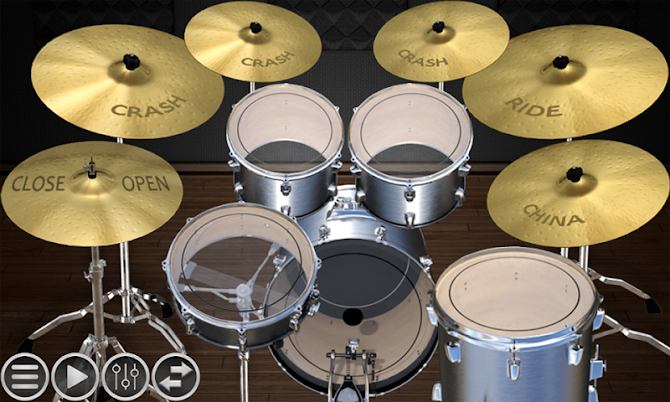 Simple Drums Basic - Realistic Drum App Android 12