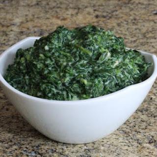 Garlic Parmesan Creamed Spinach Recipes