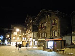 Photo: Zermatt by night