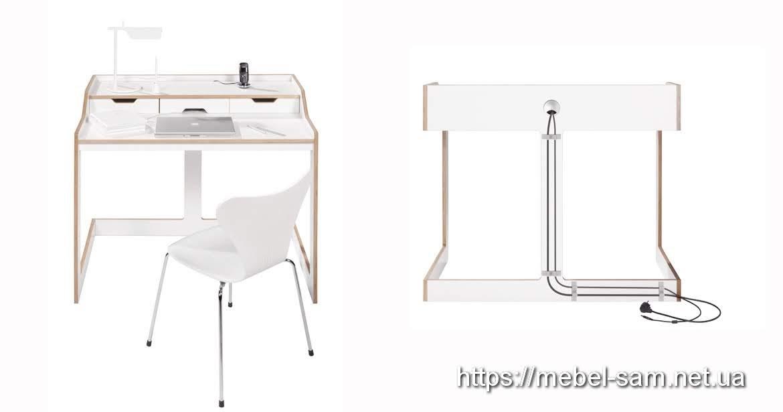 довольно продуманная конструкция стола