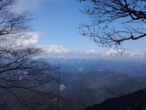 郡上方面の山