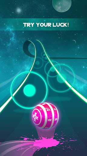 Dancing Neon Ball: Rush Road screenshot 11