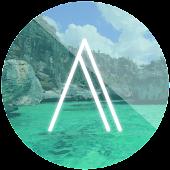 Aquamarine CM12 Theme