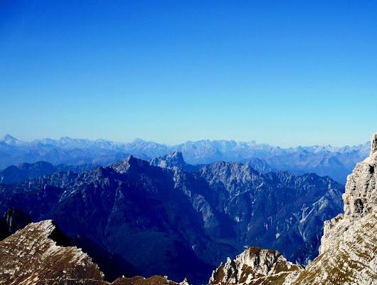 Panorama d'alta quota di LunaStorta