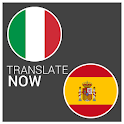 tradurre Italian Spanish popup icon