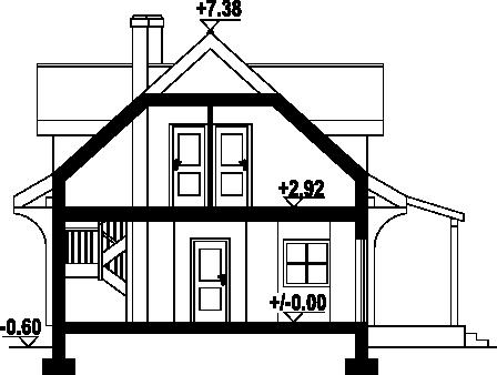 Rydzowo 3 - Przekrój