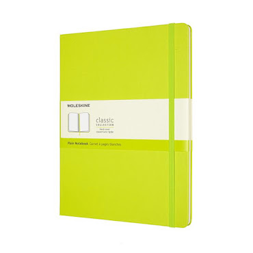 Classic Hard Cover XL Lemon Green