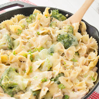 Chicken, Broccoli, & Pasta Skillet Casserole Recipe