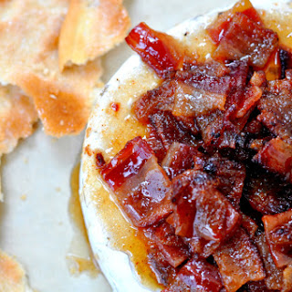 Cayenne Bacon Baked Brie