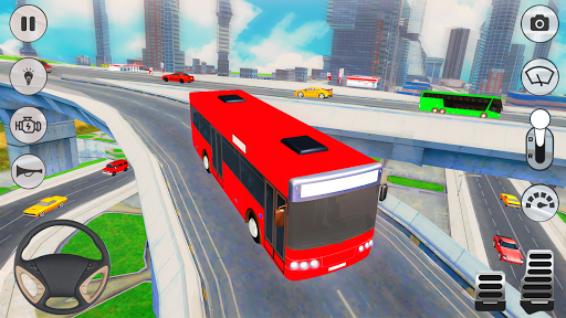 City Coach Bus Driver 3D Bus Simulator screenshots 2