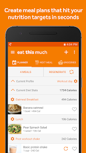 Eat This Much - Meal Planner 1.157