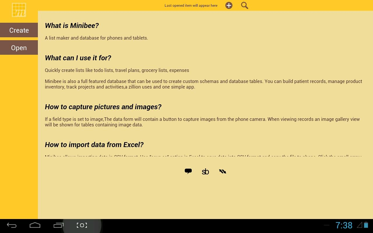 MiniBee Database & List Maker- screenshot