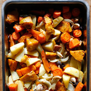 Lemon Herb Roasted Vegetables Recipes