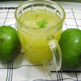 Raw Mango Sharbat.